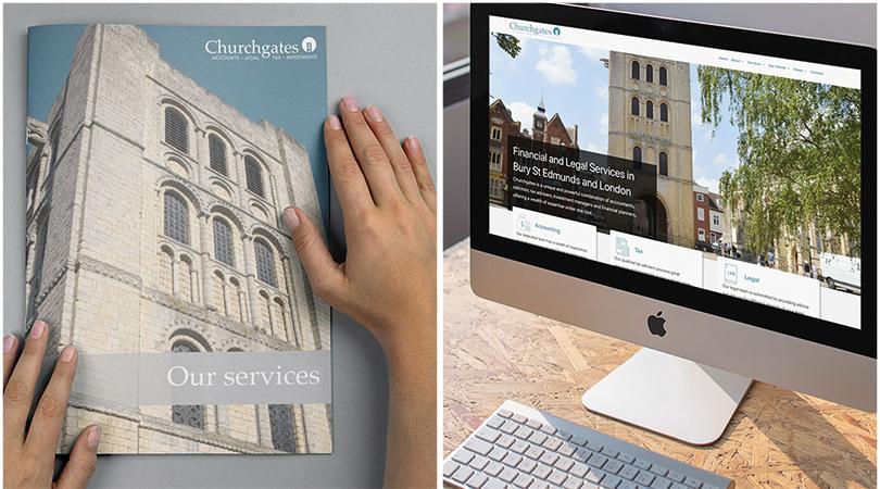 Churchgates new brochure and website