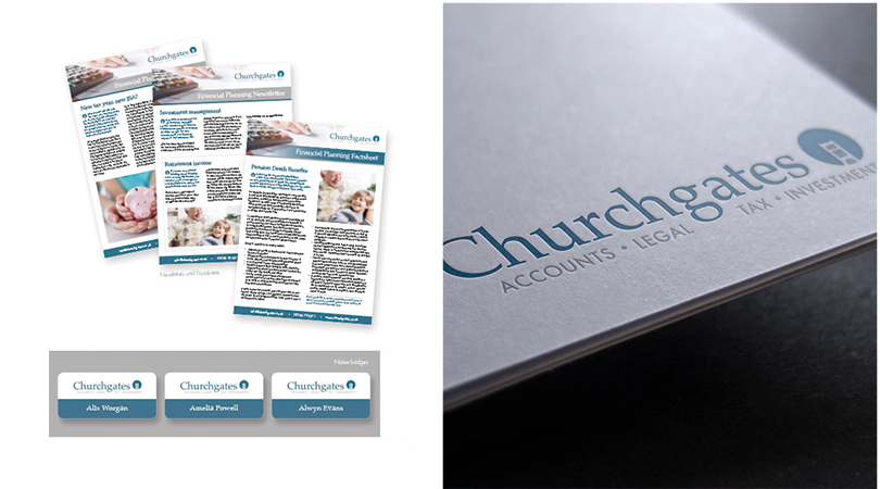Churchgates new branding